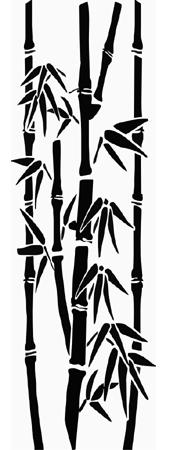 фото рисунков на стекле бамбук